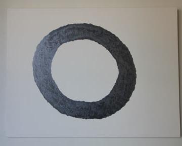 'Halo' graphite on gesso board. 550mm x 420mm. 2014