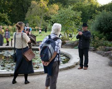 'Parlour Jardin' Botanical gardens, Oxford. 2013