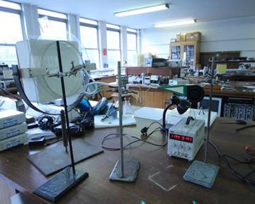 'Halo Machine' Mixed media and Ice. Blackett Lab. 2014
