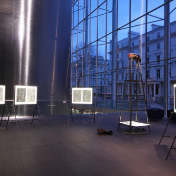 'Becoming Graphene' Installation at Imperial College London 2015
